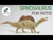 SPINOSAURUS FACTS! - Fun & Educational - Dinosaurs For Kids - Best Dinosaur Facts