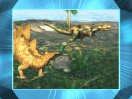 Stegosaurus and megalosaurus by mdwyer5 dd1etly