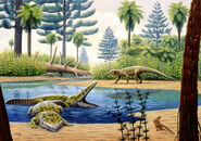 Triassic-environment-mauricio-anton