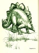 Stego In the Days of the Dinosaurs