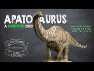 Apatosaurus Facts! A Dinosaur Facts video about the enormous Apatosaurus, also known as Brontosaurus