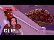 Race to Escape 🦖 Jurassic World Camp Cretaceous - Netflix Futures