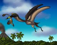 Terror of the cretaceous skies by tyrannoninja de69xf5