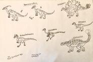 Dinosaurs for tos dinosaur age part 1 by rowserlotstudios1993 de8hvuj