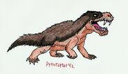 Dv 20 cartoon inostrancevia by pyroraptor42 d9i637y