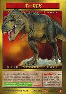 T-Rex Trading Card