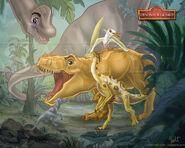 The dinosaur guard by monocerosarts dcf14c1-pre