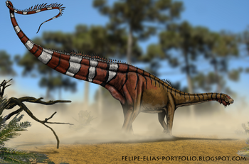 Dinheirosaurus lourinhanensis by felipe elias.png