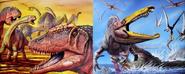 Extreme Dinosaurs Carcharodontosaurus 2, Aegyptosaurus 2, Alanqa 2, Suchomimus and Sarcosuchus