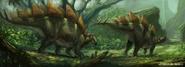 Stegosaurus by Jonathan Kuo artwork