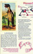 Tyrannosaurus Brooke Bond Picture Cards