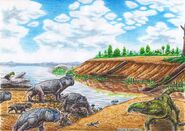Early triassic south africa by xiphactinus d9wew9q-fullview