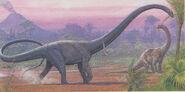 Mamenchisauro ed euelopodo