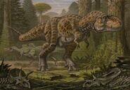 Tyrannosaurus rex nanotyrannus lancensis by abelov2014-d9jvsna