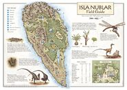 Isla Nublar map novel