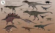 Dinosaurs of the Morrison