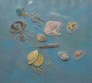 Fantasia Rite of Spring Test Cel Jellyfish