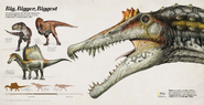 NG magazine Spinosaurus Big, Bigger, Biggest