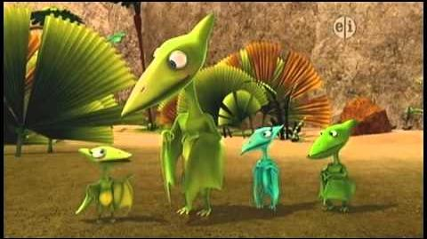 Dinosaur Train S01 The Old Spinosaurs And The Sea A Spiiky Tail ENGLISH