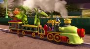 Крошечный поезд