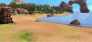 Прибрежная станция птеранодонов