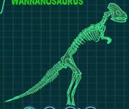 Скелет ваннанозавр
