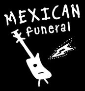 Mexican funeral logo