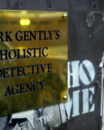 Dirk Gently's Holistic Detective Agency Sign BBC.jpg