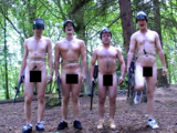 Naked Paintball