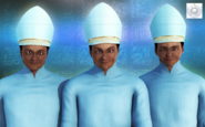 Mayans with Mitres