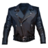 Leather Jacket Fuck the World