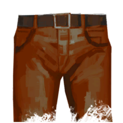 Pants jeans red.png