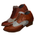 Mesque Banger's Red Brogues