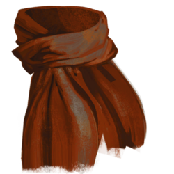 Neck winter scarf red.png