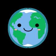 Kawaii-earth-vector-clipart