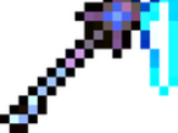 Crystalized flare pickaxe