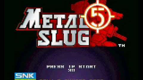 Metal Slug 5 - Final Attack Soundtrack
