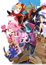 Disgaea 6 Cast Key Art