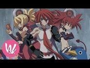 「Disgaea 2」 Opening (PC) 「Sinful Rose」 《 Waifu2x - 4K 》