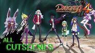Disgaea 4 Postlude - All Cutscenes Full Story 1080p HD