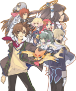 The Guided Fate Paradox Cast