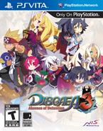 Disgaea 3 US Vita Cover
