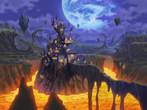 Laharl's Castle