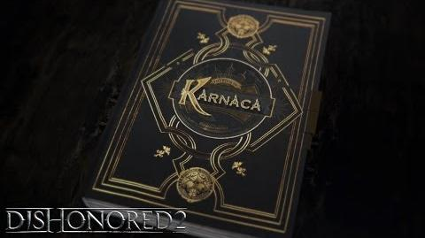 "Vídeo narrativo de Dishonored 2 ""El libro de Karnaca"""