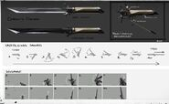 Corvo's sword fold-unfold mechanism