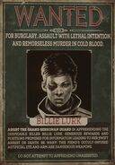 Плакат о розыске Билли (DotO)