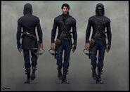 Корво - концепт Dishonored 2