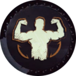 Strength ability icon.