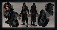 Корво Аттано - концепт Dishonored