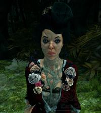 Ведьма в красной блузке
